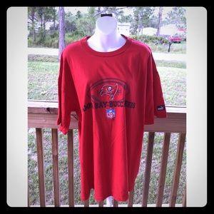 "Puma Unisex Red XL ""Tampa Bay Buccaneers NFL"" Tee"